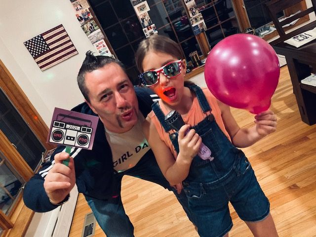 Saint Mary School in Ridgefield Gets Creative, Father-Daughter Date Night Includes Virtual Hip Hop Dance Party!
