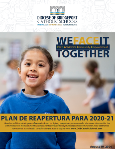 Diocese of Bridgeport Fall Reopening Plan - Spanish
