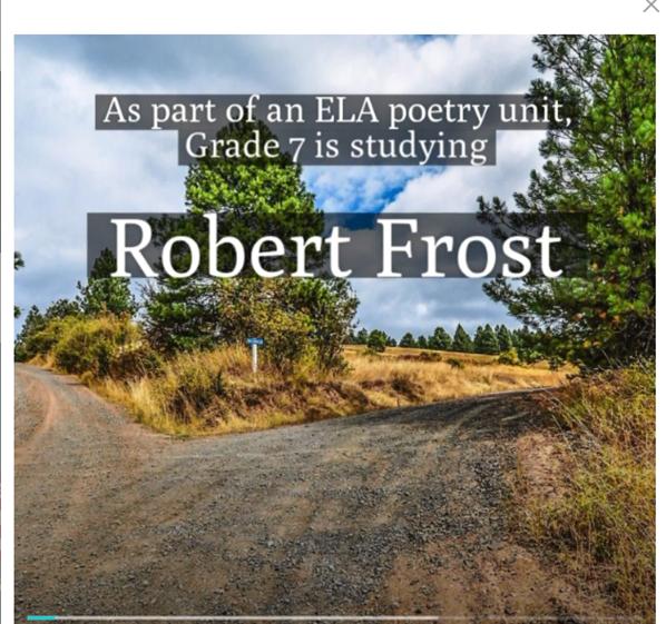 Grade 7 ELA Robert Frost Video