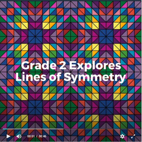 Grade 2 Lines of Symmetry Video