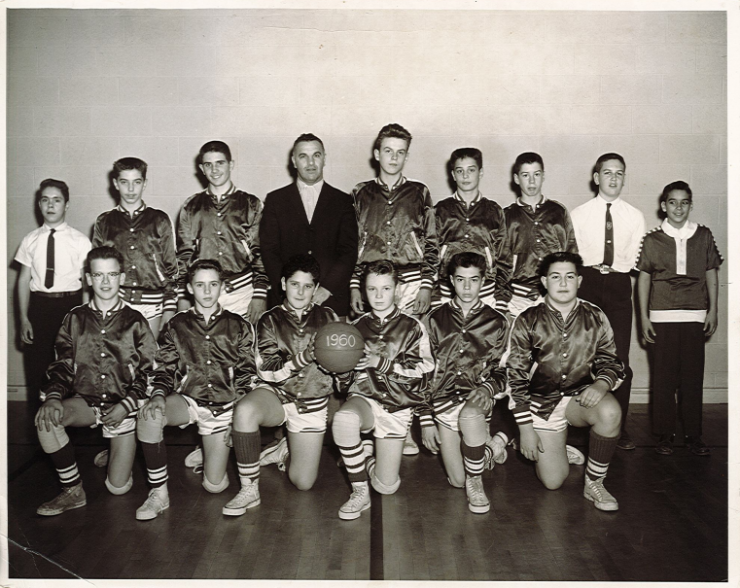 1960 SMS Boys Basketball Team Picture