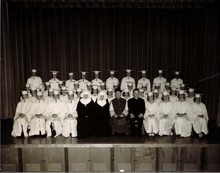 First Graduating Class of SMS
